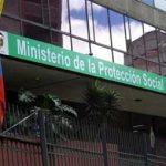 ministerio salud protección social