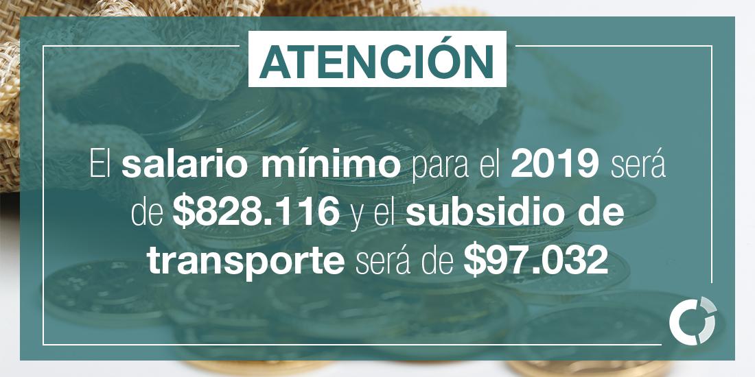 Estos son los incrementos más jugosos del salario mínimo en Colombia