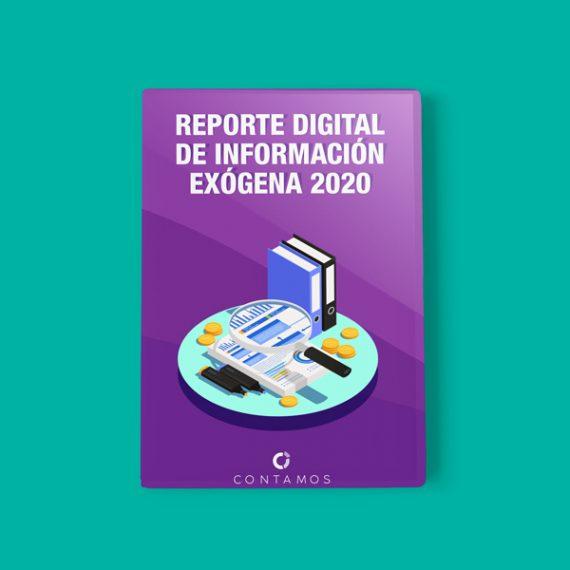 Reporte informacion exogena 2020